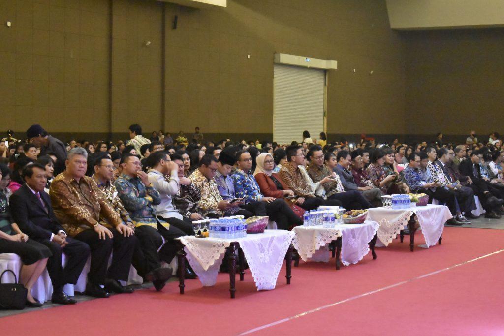 Perayaan Natal Pemprov DKI Jakarta: MEWUJUDKAN JAKARTA YANG DAMAI, MAJU, BAHAGIA & SEJAHTERA BAGI MASYARAKAT