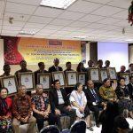 Narwastu Berikan Award Kepada '21 Tokoh Kristiani 2017' Sebagai Pemimpin Inspirator & Motivator