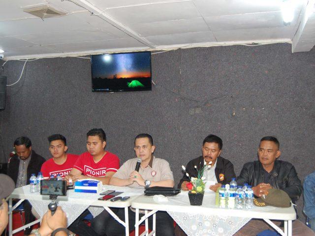 Ketum Bakornas GMDM, Jefri Tambayong: Kami hanya Diundang Untuk Deklarasi Anti Narkoba, Bukan Sebagai Panitia