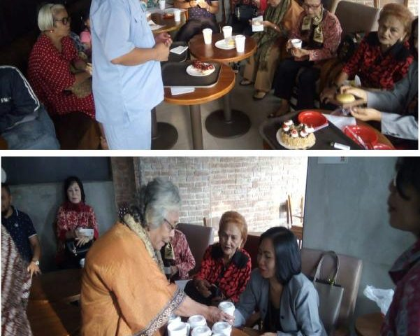 Pembukaan Komunitas Lansia, Pdt. Dr. Bernalto.,D.Th: Diharapkan Lansia dapat membimbing anak, menantu serta cucu agar tidak bercerai dan tetap memiliki Kasih Agape