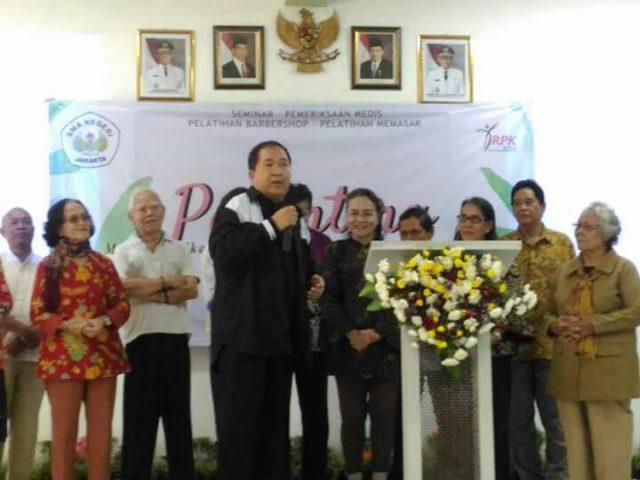 Pdt. Dr. Bernalto.,D.Th Memberikan Seminar Parenting & Pendidikan Budi Pekerti di SMA 91 Jakarta Timur