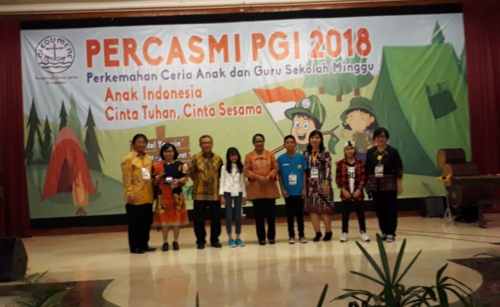 Perkemahan Ceria Anak Dan Guru Sekolah Minggu (PERCASMI) PGI 2018 Dibuka Secara Resmi Oleh Menteri PPPA Prof.Dr. Yohana Susana Yambise