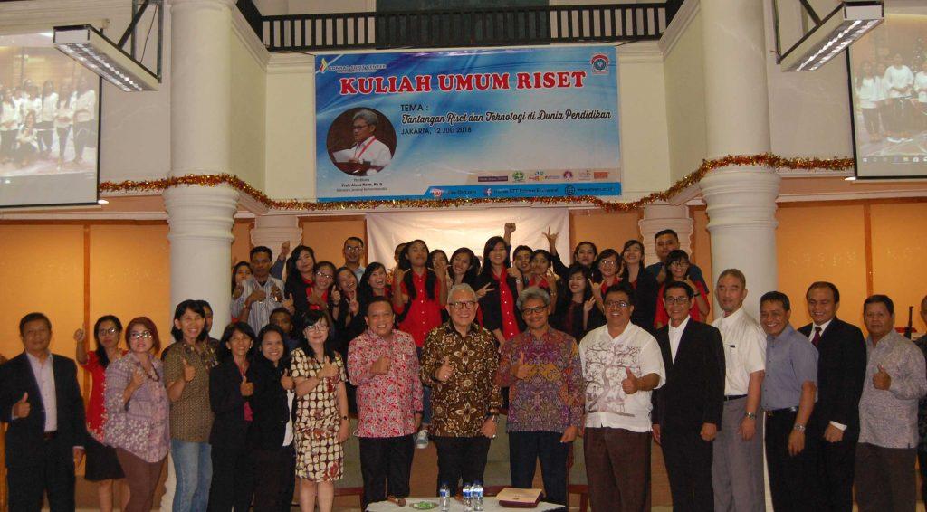 Kuliah Umum STT REM Ke 7 Hadirkan Sekjen Kemenristekdikti, Prof. Ainun Naim., Ph.D