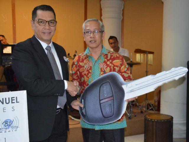 Ibadah GMB Bulan Agustus 2018: BPD Jawa Tengah/DIY Terima Bantuan Mobil Gran Max Ke 26