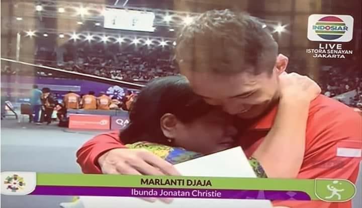 Jonatan Christie, Sang Peraih Medali Emas Asian Games 2018 Yang Utamakan Tuhan, Keluarga & Cinta Indonesia