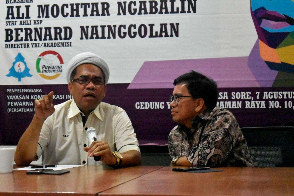 Dr. Ali Mochtar Ngabalin: Indonesia hidup dalam keberagaman sejak dulu, semua pihak yang bawa isu SARA harus ditindak tegas