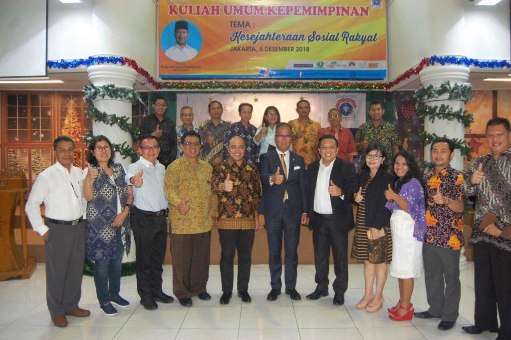 Kuliah Umum Ke 14 STT REM  Menghadirkan Menteri Sosial RI, Dr. Agus Gumiwang Kartasasmita.,M.Si Sebagai Pembicara