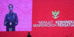 Presiden Jokowi Hadiri Perayaan Imlek Nasional di JIEXPO Kemayoran Jakarta