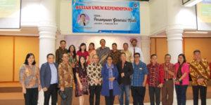 MENTERI PPPA PROF. DR. YOHANA SUSANA YEMBISE., Dip.Apling., MA (KULIAH UMUM STT REM KE 16): PEREMPUAN INDONESIA HARUS BANGKIT!